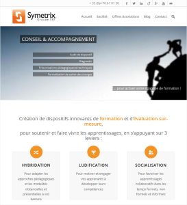 Symetrix-website