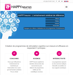 HAPPYneuron website